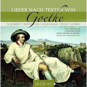 Various - Lieder Nach Texten Von Goethe (Plus Hörbuch)