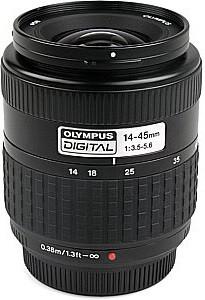 Olympus Zuiko Digital 14-45 mm F3.5-5.6 58 mm filter (geschikt voor Four Thirds) zwart