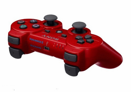 Sony PS3 DualShock 3 Controller red