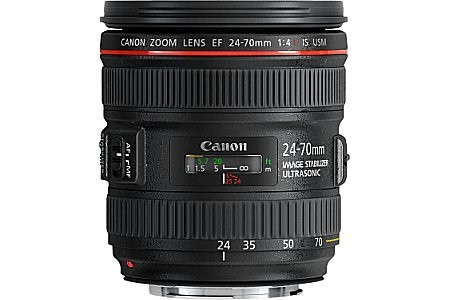 Canon EF 24-70 mm F4.0 IS L USM 77 mm Obiettivo (compatible con Canon EF) nero