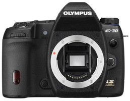 Olympus E-30 noir