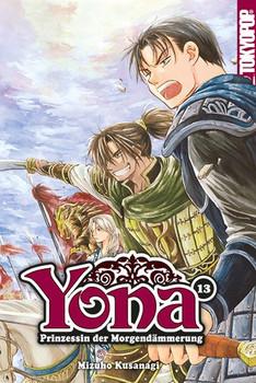 Yona - Prinzessin der Morgendämmerung 13 - Mizuho Kusanagi  [Taschenbuch]