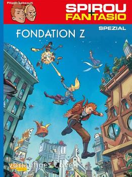 Spirou und Fantasio Spezial 27: Fondation Z - Denis-Pierre Filippi  [Taschenbuch]