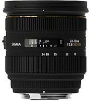Sigma 24-70 mm F2.8 DG EX HSM 82 mm Objectif (adapté à Nikon F) noir