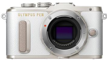 Olympus Pen E-PL8 Cuerpo blanco