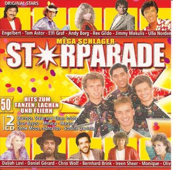 Mega Schlager Starparade (Rondo/Grüezi) - Drafi Deutscher, Daliah Lavi, Kristina Bach..