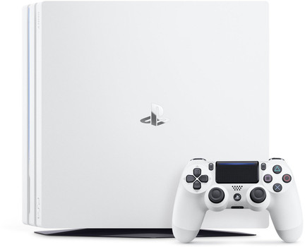 Sony Playstation 4 pro 1 TB [Manette Wireless] blanc