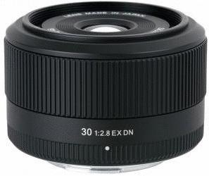 Sigma 30 mm F2.8 DN EX 46 mm Obiettivo (compatible con Micro Four Thirds) nero