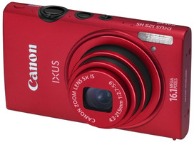 Canon IXUS 125 HS rojo