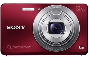 Sony DSC-W690 rood
