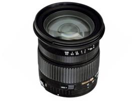Sigma 17-70 mm F2.8-4.5 DC 72 mm Objectif (adapté à Canon EF) noir