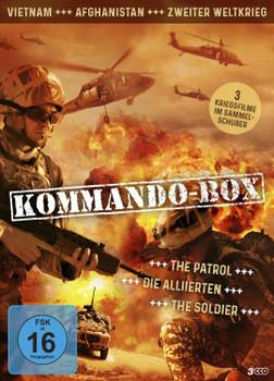 Kommando-Box: The Patrol / Die Alliierten / The Soldier [3 DVDs]