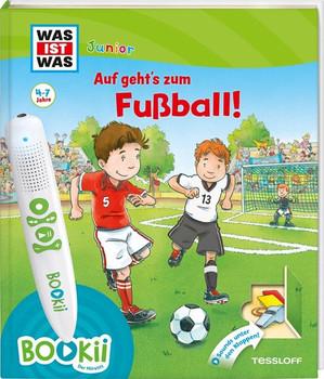 Auf geht's zum Fußball!. Über 600 Hörerlebnisse und interaktive Spiele! - Claudia Kaiser  [Gebundene Ausgabe]