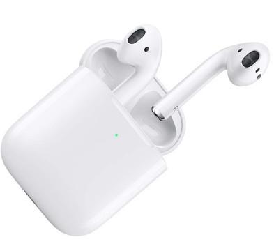 Apple AirPods 2 blanc [avec boitier de charge sans fil]