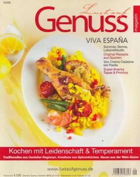 Lust auf Genuss 9/2009: Viva España - Kochen mit Leidenschaft & Temperament [Broschiert]