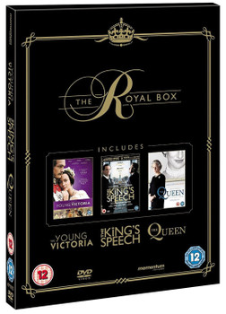 The Royal Box: The Young Victoria / The King's Speech / The Queen [3 DVDs, UK Import]