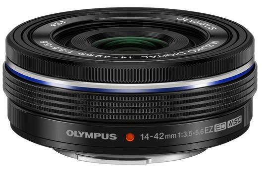 Olympus 14-42 mm F3.5-5.6 ED EZ 37 mm filter (geschikt voor Micro Four Thirds) zwart