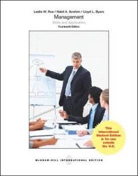 Management: Skills and Application - Rue, Leslie W.