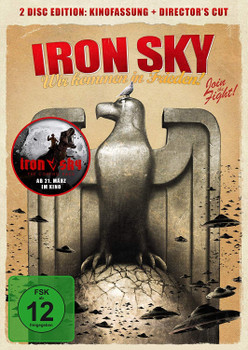 Iron Sky - Wir kommen in Frieden! [Kinofassung + Director's Cut, 2 DVDs]