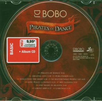 DJ Bobo - Pirates Of Dance -- The 10th Album (Basic Edition)