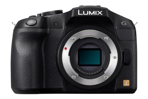 Panasonic Lumix DMC-G6EG-K body zwart