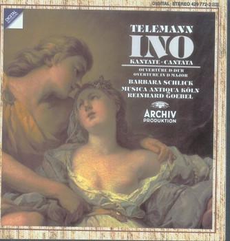 Barbara Schlick - Telemann: Ino / Ouvertüre D-dur