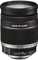 Canon EF-S 18-200 mm F3.5-5.6 IS 72 mm filter (geschikt voor Canon EF-S) zwart