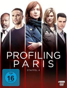 Profiling Paris - Staffel 4 [4 Discs]