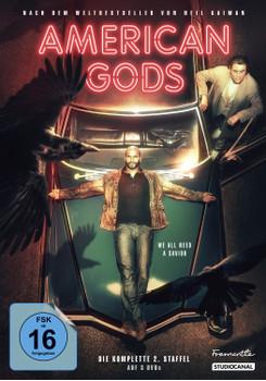 American Gods - Die komplette 2. Staffel [Collector's Edition, 3 DVDs]