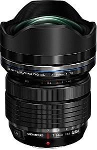 Olympus Pro 7-14 mm F2.8 ED (adapté à Micro Four Thirds) noir