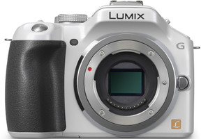 Panasonic Lumix DMC-G5 body bianco