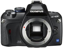 Olympus E-420 noir