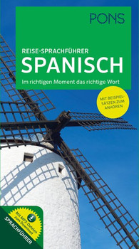 PONS Reise-Sprachführer Spanisch. Im richtigen Moment das richtige Wort. Mit Beispielsätzen zum Anhören. [Taschenbuch]