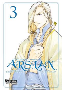 The Heroic Legend of Arslan: Band 3 - Hiromu Arakawa [Taschenbuch]
