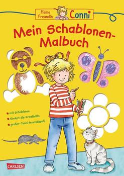 Conni Gelbe Reihe: Mein Schablonen-Malbuch - Hanna Sörensen  [Taschenbuch]