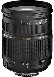 Tamron AF SP 28-75 mm F2.8 ASL Di IF LD XR Macro 67 mm Objectif  (adapté à Sony A-mount) noir