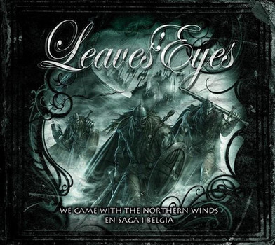 Leaves'Eyes - We Came With the Northern Winds-en Saga I Belgia (2 CD + 2 DVD, CD-Boxset)