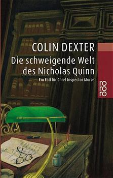Die schweigende Welt des Nicholas Quinn - Colin Dexter