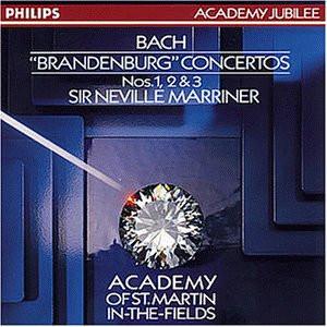 Neville Marriner - Brandenburgische Konzerte 1-3