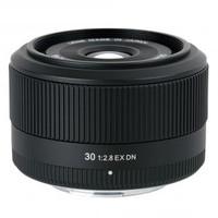 Sigma 30 mm F2.8 DN EX 46 mm Objetivo (Montura Sony E-mount) negro