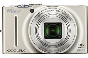 Nikon Coolpix S8200 plata