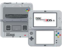 New Nintendo 3DS XL [Special SNES Edition] gris