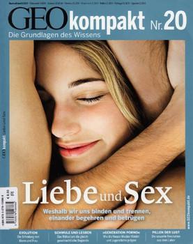 GEO Kompakt 20/2009: Liebe und Sex [Broschiert]