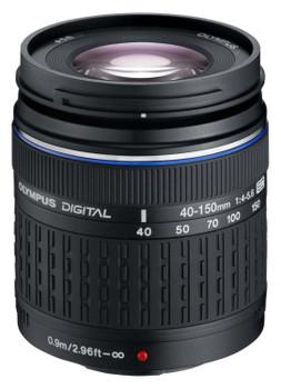 Olympus Zuiko Digital 40-150 mm F4.0-5.6 ED 58 mm Objectif (adapté à Four Thirds) noir