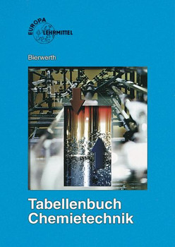 Tabellenbuch Chemietechnik: Daten, Formeln, Normen, Vergleichende Betrachtungen. Aus den Bereichen: Allgemeine und technische Mathematik, Physik, ... Arbeitssicherheit - Walter Bierwerth