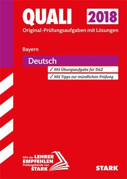 Quali Mittelschule Bayern - Deutsch [Taschenbuch]