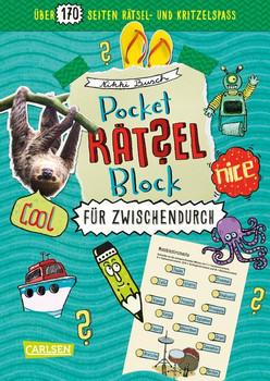 Pocket-Rätsel-Block: Für zwischendurch. 100% Rätselspaß für deine Tasche - Nikki Busch  [Taschenbuch]
