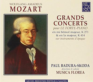 Badura-Skoda - Mozart: Klavierkonzerte Nr. 9 KV 271 & Nr. 12 KV 414