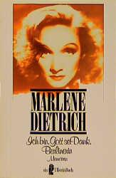 Ich bin, Gott sei Dank, Berlinerin. Memoiren. - Marlene Dietrich