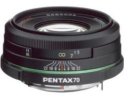 Pentax smc DA 70 mm F2.4 ED 49 mm Objectif (adapté à Pentax K) noir